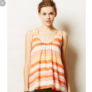 Anthropologie meadow rue Merlon tank top Xsmall